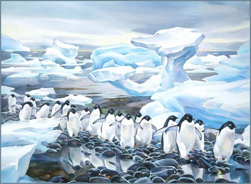 """Antarctic Shoreline"""