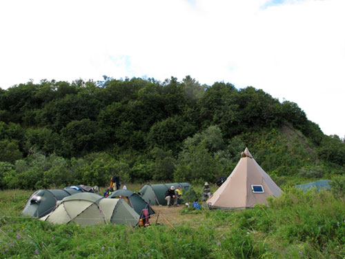 """Hallo Bay Camp, Katmai, Alaska"""