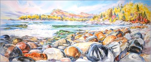 """Coastal Trail, Lake Superior"""