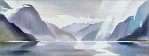 """Fiordlands study #3"""